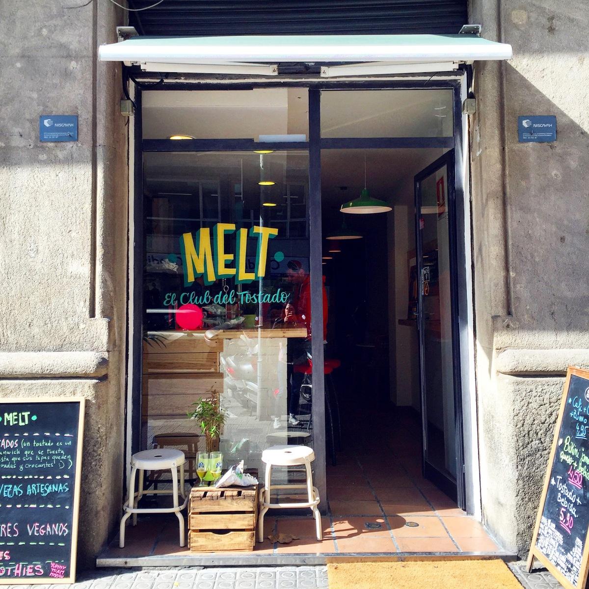 Melt, el club del tostado